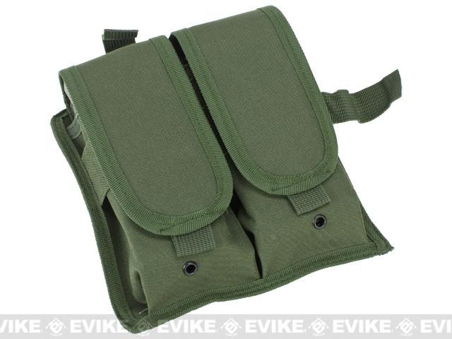 Matrix Special Force Cross Draw Tactical Vest w/ Built In Holster & Mag Pouches - OD Green