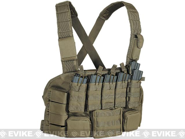 Voodoo Tactical MOLLE Tactical Chest Rig - OD Green
