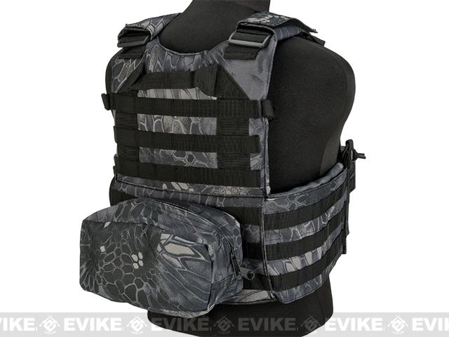 Avengers 6D9T4A Tactical Vest with Magazine and Radio Pouches - Urban Serpent