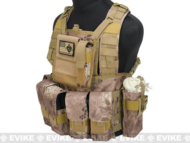 Matrix Special Operations RRV Style Chest Rig - Arid Serpent