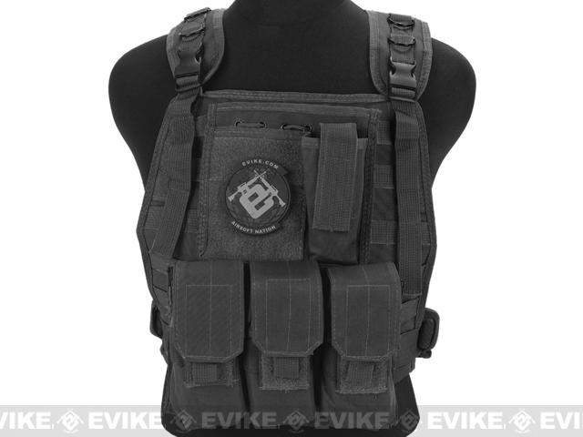 Avengers Tactical Spec. OPS MOLLE Plate Carrier / Load Bearing Vest - Black