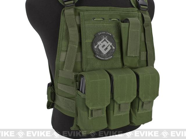 Avengers Tactical Spec. OPS MOLLE Plate Carrier / Load Bearing Vest - OD Green
