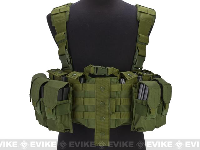 Avengers (Large ~ 2XL) MOLLE Tactical Assault Vest (Color: OD Green)