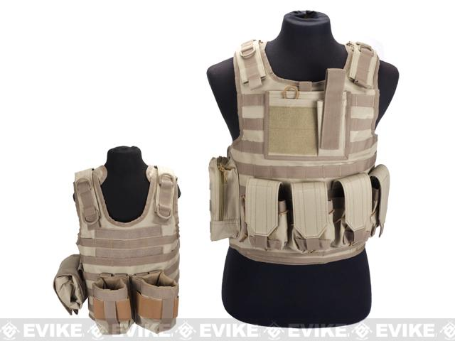 Matrix Tactical Systems Baby CIRAS Tactical Vest - Tan