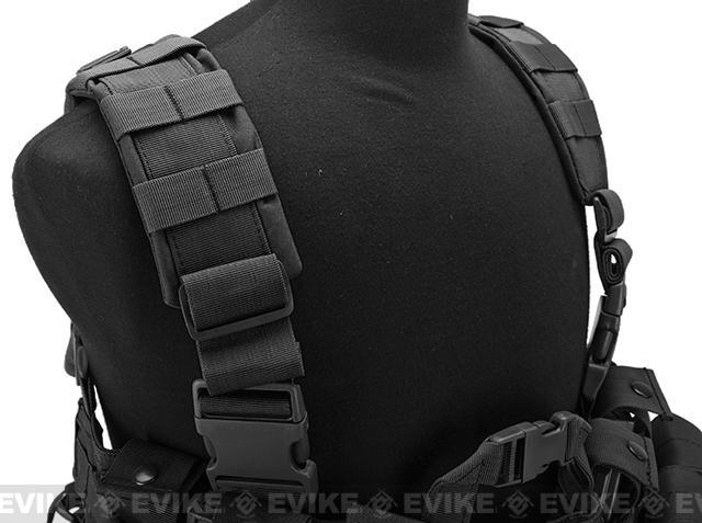 Lancer Tactical High Speed M4/M16 Chest Rig - Black