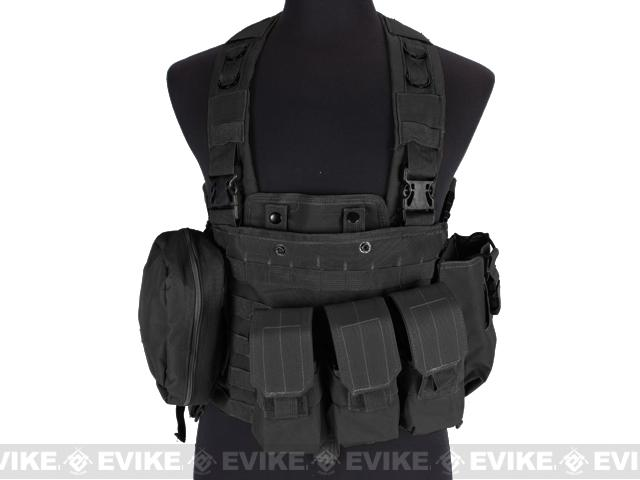 Defcon Commando Chest Rig- Black