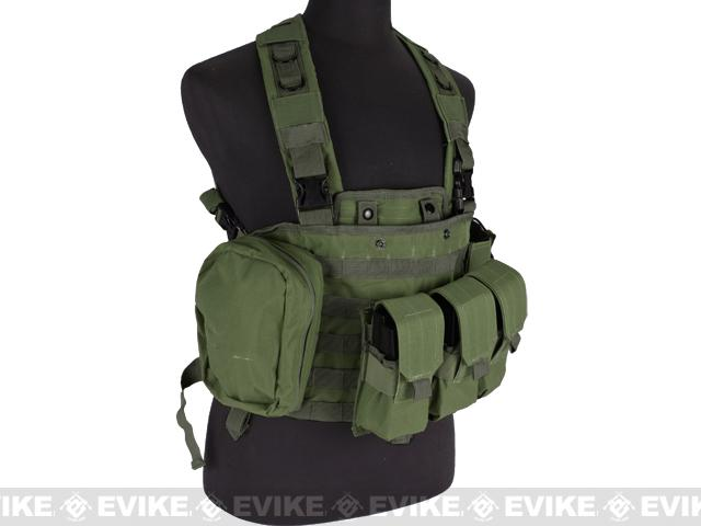 Defcon Commando Chest Rig - OD Green