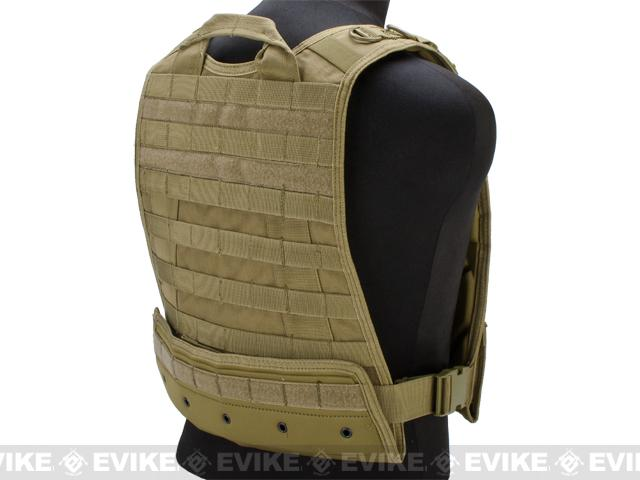 Condor Compact Plate Carrier - Tan