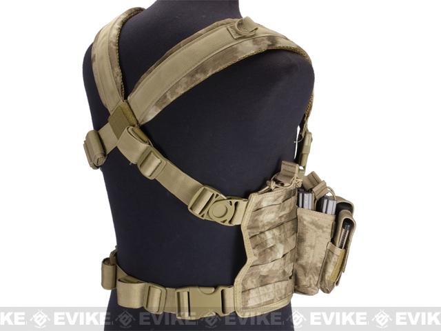 z Condor Gen 5 Tactical MOLLE Recon Chest Rig - A-TACS FG