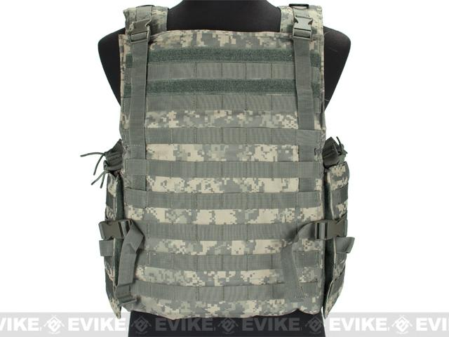 z Condor Plate Carrier MOLLE System Ready Body Armor Vest - ACU