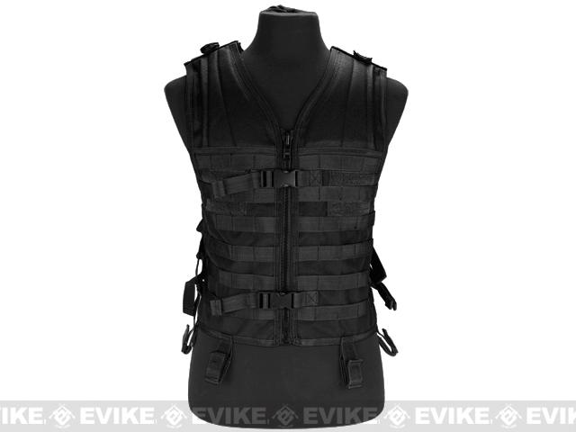Matrix Modular Molle System Vest (Vest Only) - Black