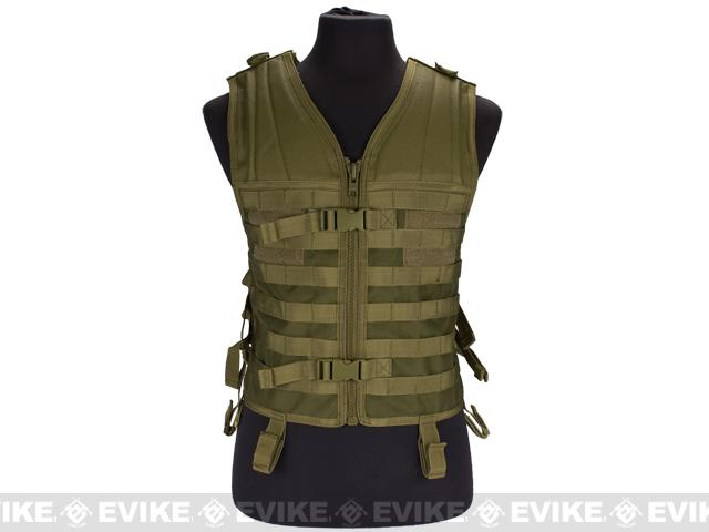 Matrix Modular Molle System Vest (Vest Only) - Tan
