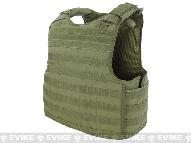 Condor Quick Release Plate Carrier - OD Green