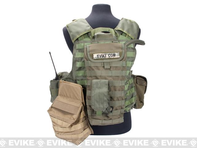 z Evike.com CEO's Ex-Setup Tactical Body Armor Set