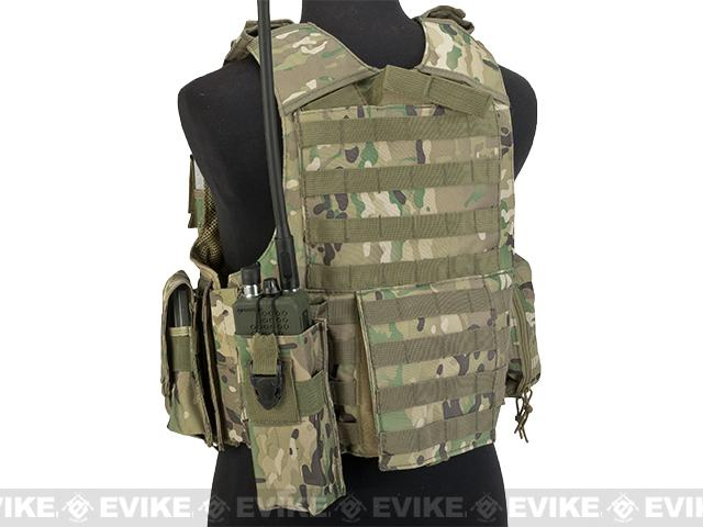 USMC Style C.I.R.A.S. Type Force Recon Tactical Vest (Color: Camo)
