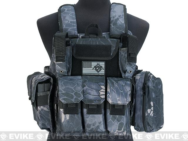 USMC Style C.I.R.A.S. Type Force Recon Tactical Vest (Color: Urban Serpent)