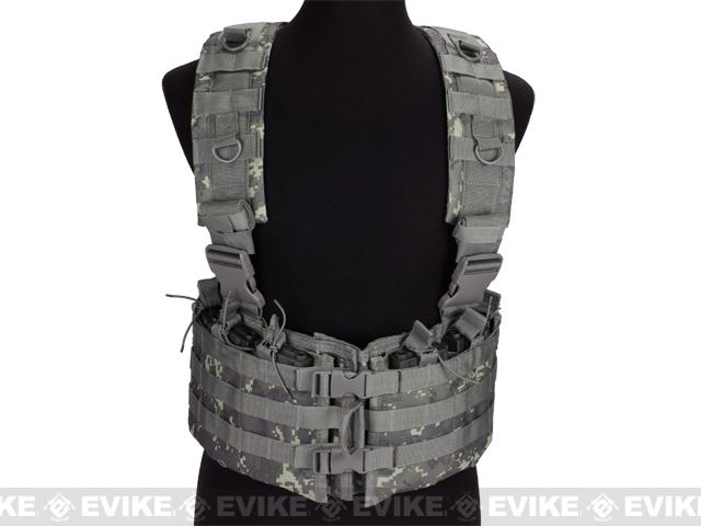NcStar AR-15 M16 Type Chest Rig - ACU