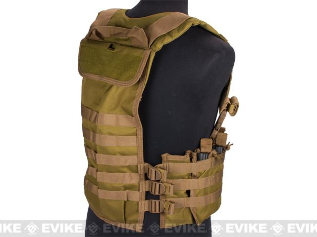 NcStar AR-15 M16 Type Chest Rig - Tan
