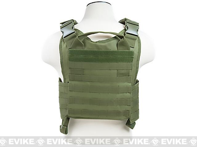 VISM / NcStar Tactical Plate Carrier - OD Green
