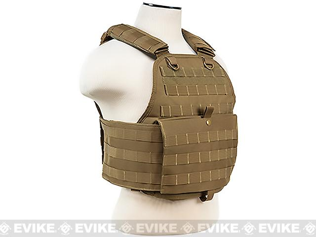 Pre-Order ETA January 2017 VISM / NcStar Tactical Plate Carrier - Tan