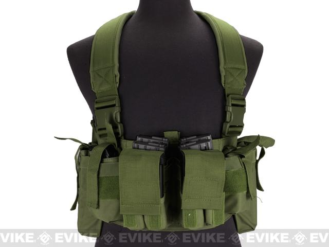 NcSTAR VISM Universal Chest Rig - OD Green