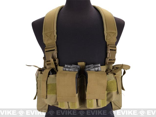 NcSTAR VISM Universal Chest Rig - Tan