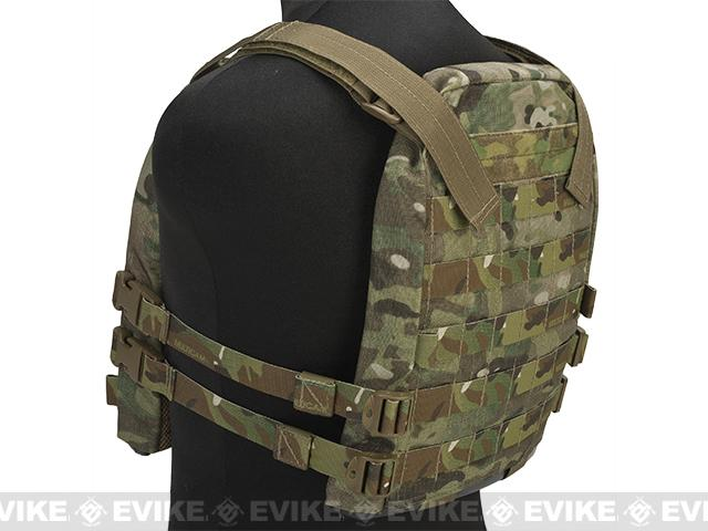 Mission Spec Essentials Only Carrier (EOC) Tactical High Speed Plate Carrier - Multicam