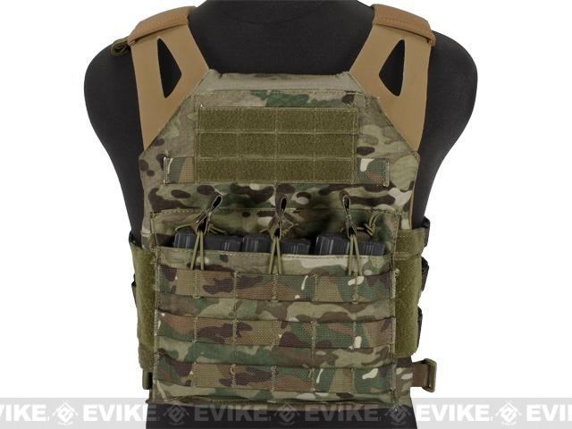 Avengers Compact Operator Airsoft High Speed JPC Plate Carrier - Land Camo