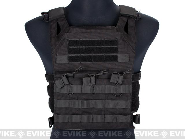Avengers Compact Operator Airsoft High Speed JPC Plate Carrier - Black
