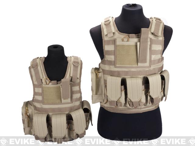 Matrix Tactical Systems Junior Size CIRAS Tactical Vest - OD Green