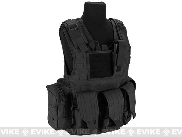 Matrix Tactical Systems Junior Size CIRAS Tactical Vest - Black