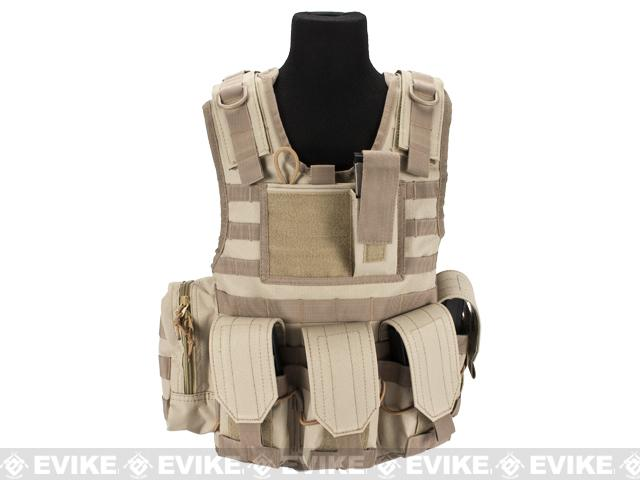 Matrix Tactical Systems Junior Size CIRAS Tactical Vest - Tan