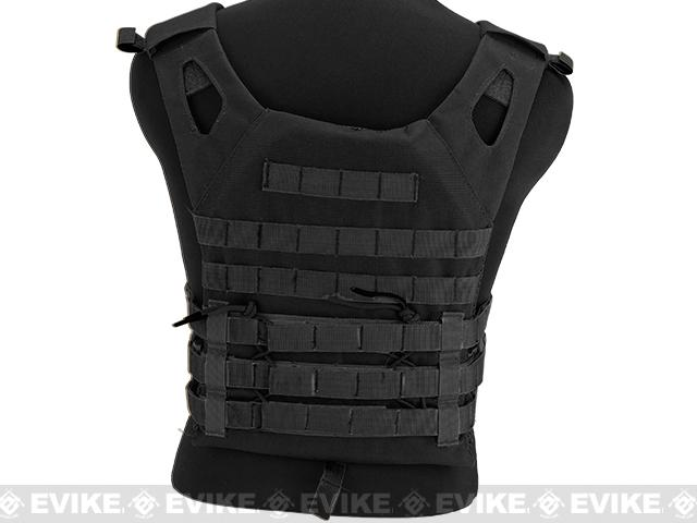 Matrix Compact Airsoft High Speed JPC Plate Carrier (Color: Black / Kids Size)