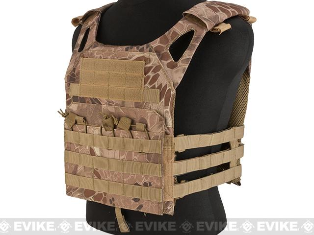 Matrix Compact Airsoft High Speed JPC Plate Carrier (Color: Desert Serpent / Kids Size)