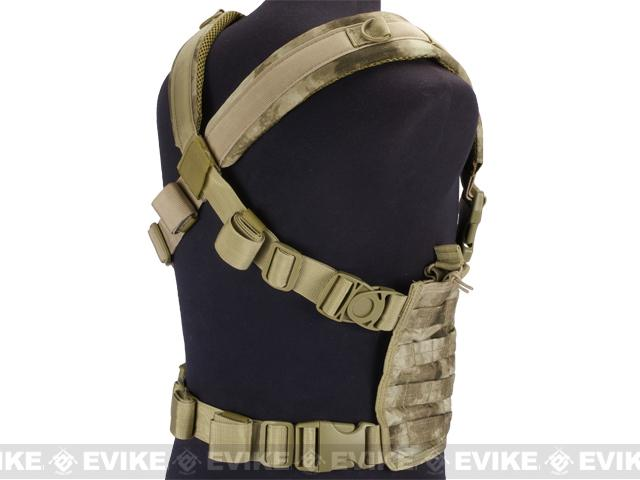 Condor Gen.4 Tactical MOLLE OPS Chest Rig - A-TACS