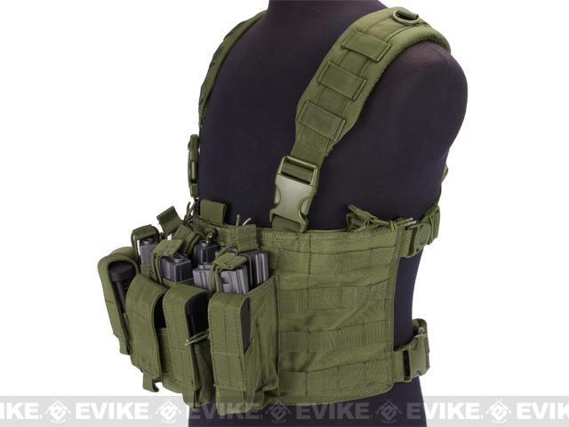 Condor Gen 5 Tactical MOLLE Recon Chest Rig - OD Green