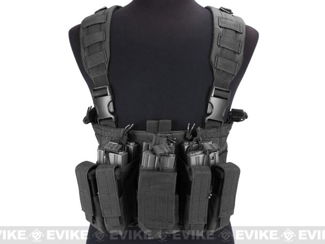 Condor Gen 5 Tactical MOLLE Recon Chest Rig - Black