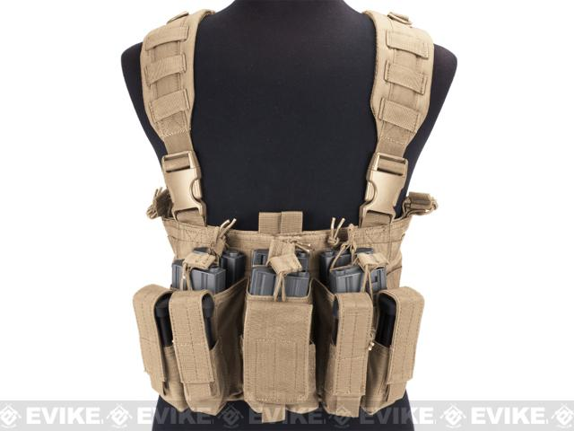 Condor Gen 5 Tactical MOLLE Recon Chest Rig - Tan