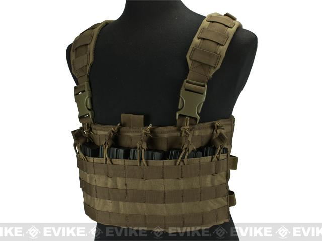 Condor Rapid Assault Chest Rig - Tan