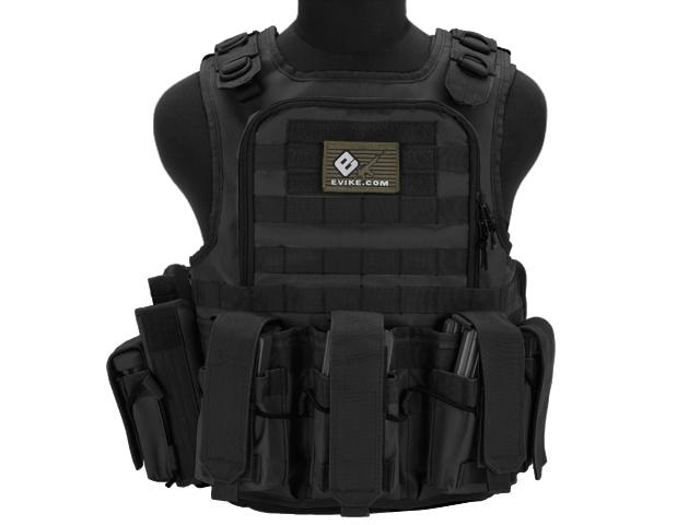 Matrix Tactical Systems Zip-Cord Tactical Field Vest w/ Duo Straps - Black