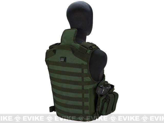 Matrix Tactical Systems Zip-Cord Tactical Field Vest w/ Duo Straps - OD Green