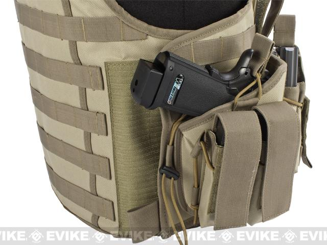 Matrix Tactical Systems Zip-Cord Tactical Field Vest w/ Duo Straps - Tan