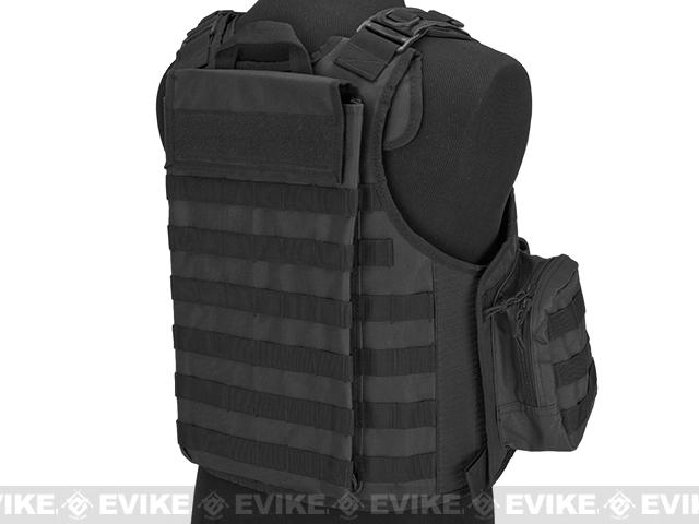 Matrix CIRAS Style Assault Vest with Pouches - Black