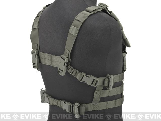 z Matrix High Speed Vest w/ Zero Gravity QD Sling - Foliage Green