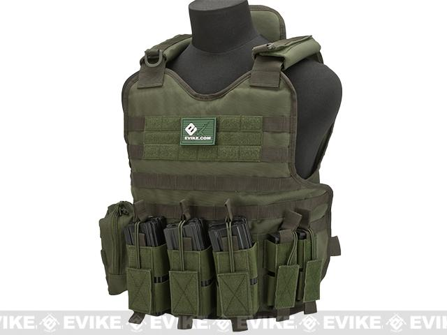 Matrix Light Brigade Tactical Vest - OD Green