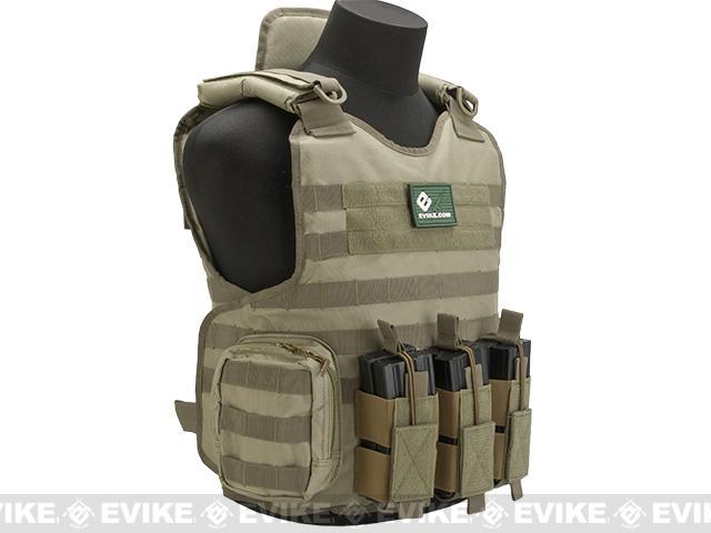 Matrix Light Brigade Tactical Vest - Tan