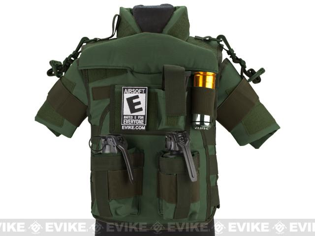 z Matrix Tactical Systems High Speed SDEU Vest - Baby Size / OD Green