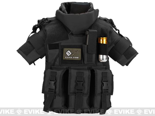 Pre-Order ETA January 2017 Matrix Tactical Systems High Speed SDEU Vest - Youth Size / Black