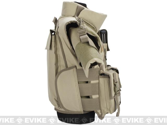 Pre-Order ETA January 2017 Matrix Tactical Systems High Speed SDEU Vest - Youth Size / Tan