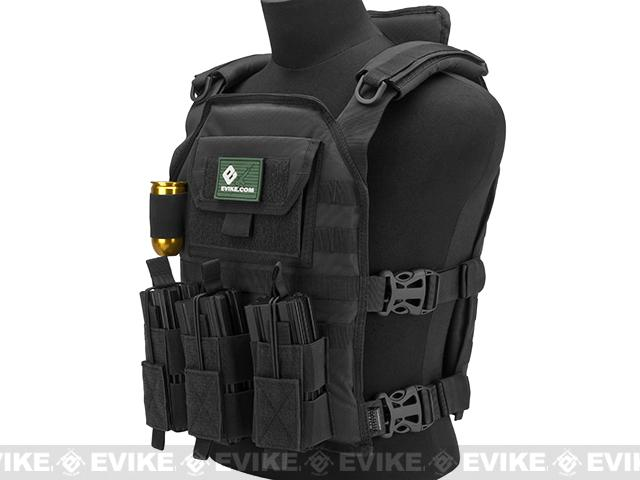 Matrix Skeletal Force High Speed Tactical Vest - Black
